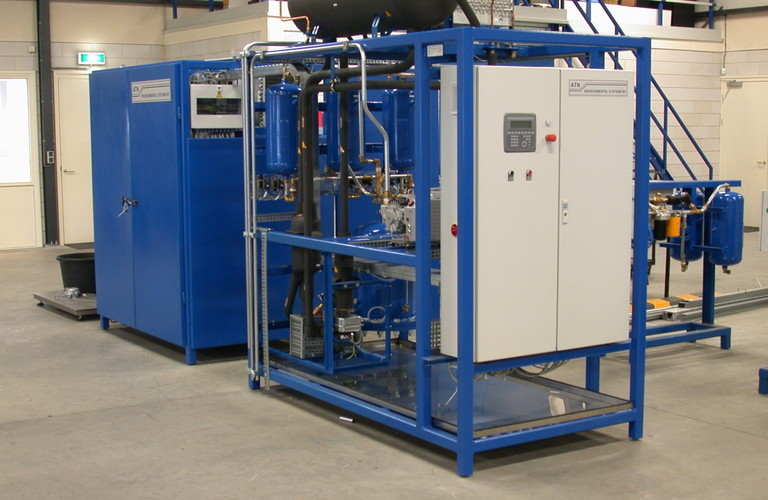 Refridgerator recycling and degassing